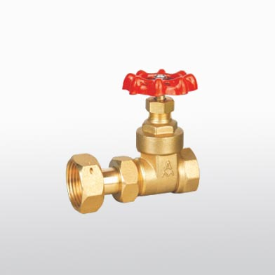 116 Brass Water Meter Gate Valve